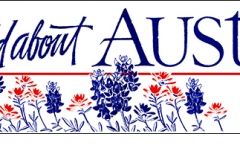 Wild About Austin (TX) bumper sticker