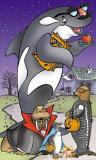 SeaWorld_TimeWarner_Halloween illustration