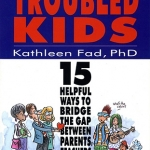 Troubled-Kids_book cover illustration and design